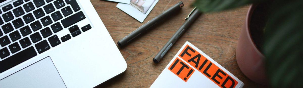 Błędy w sukces, czyli dlaczego warto uczyć się na błędach?